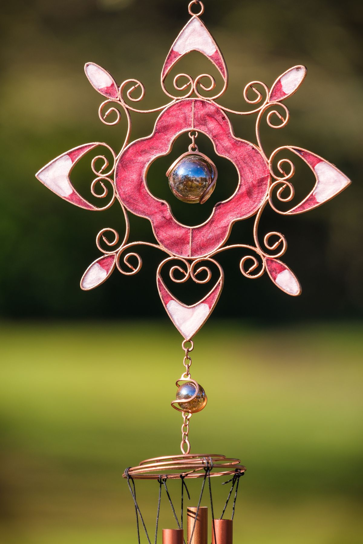 Hand-crafted windchimes will raise cash for Compton Care
