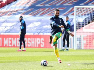 Kyle Bartley of West Bromwich Albion during the pre-match warm up.