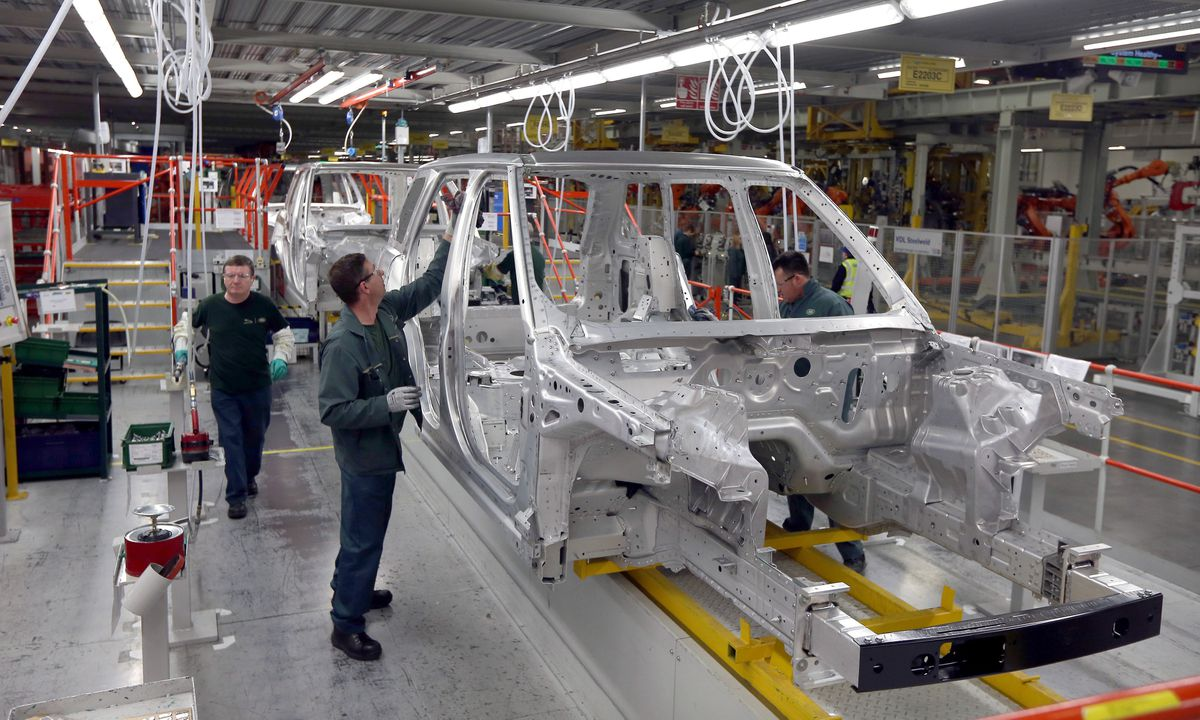 Inside the Solihull factory - the company's biggest