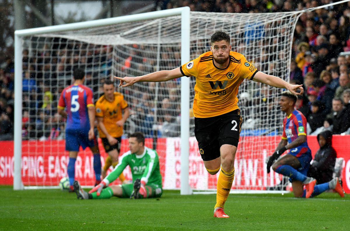 Doherty celebrates his goal at Crystal Palace on Saturday (AMA)