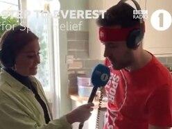 Staffordshire teacher 'climbing Everest' for Sport Relief challenge on BBC Radio One