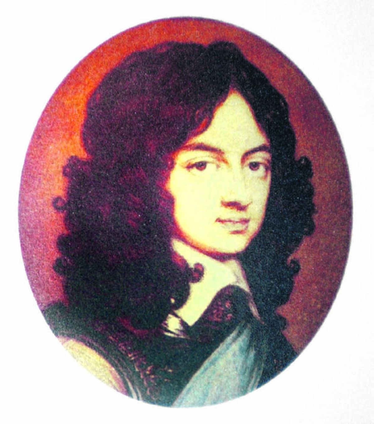 """A young King Charles II, who hid in """"the Royal Oak"""" at Boscobel"""