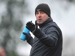 Steve Palmer not planning a long stay in the AFC Wulfrunians hot-seat