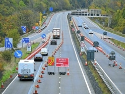 Misery for Staffordshire drivers as stretch of M54 is to close for six weeks
