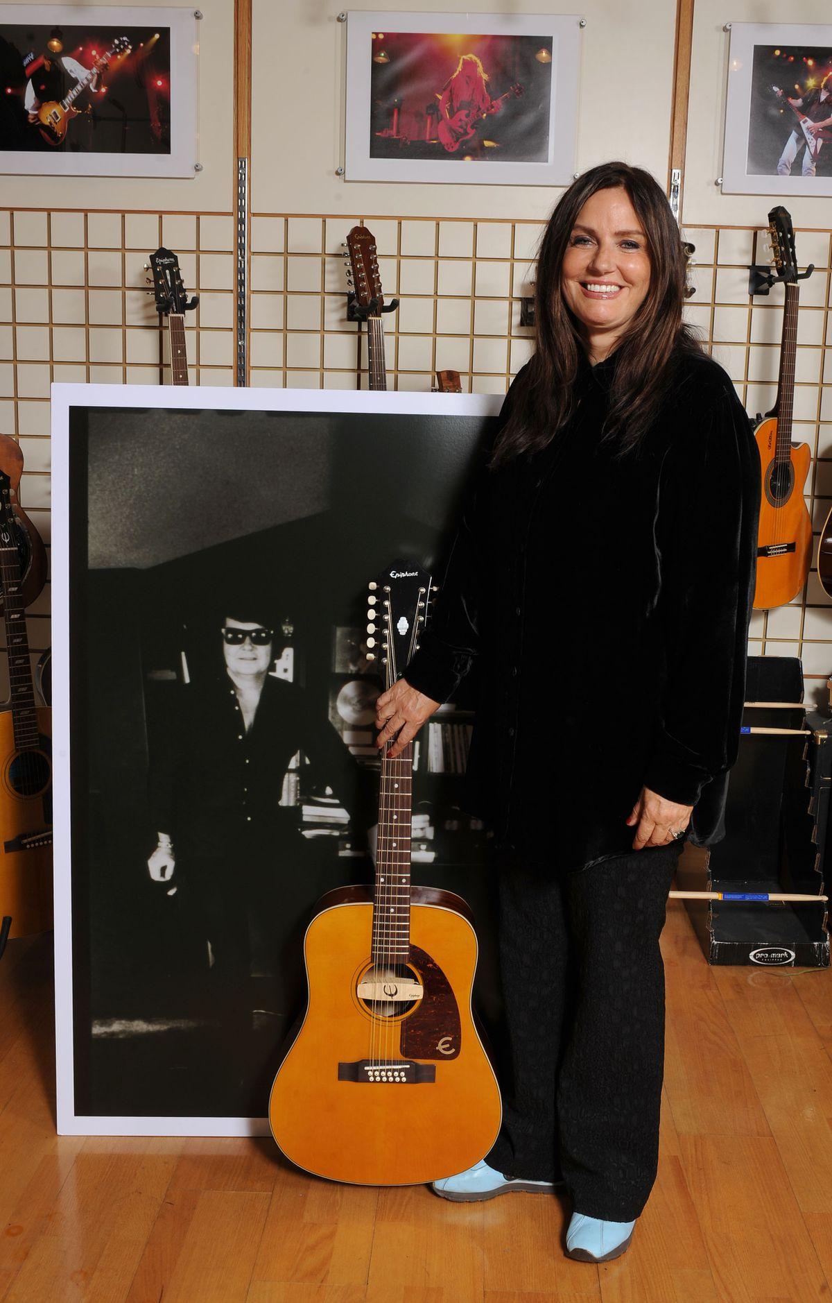 Roy Orbison's wife and Roy Jr's mum Barbara Orbison in 2009