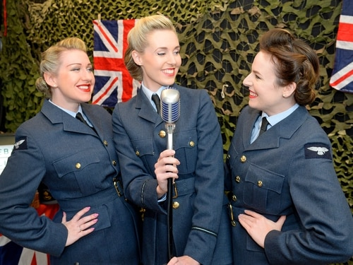 Belles join in vintage fun at Brierley Hill market - with pictures