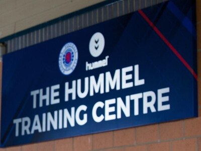 Fire tackled at Rangers training centre
