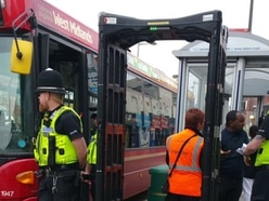 Bus passengers searched during knife crime crackdown