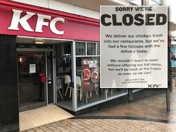 KFC Wolverhampton among hundreds of outlets shut due to chicken shortage