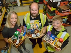 Food bank appeals for help as stocks fall critically low