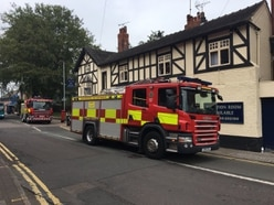 Fire crew called to Stafford pub fire