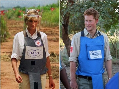 Harry 'proud' to continue Diana's landmine campaigning legacy during Africa trip