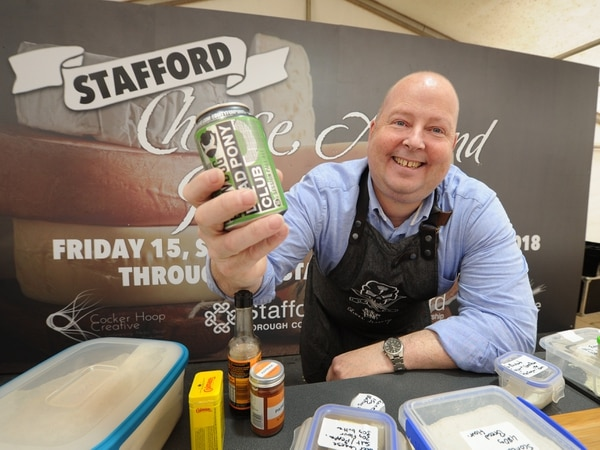 Un-brie-lievable scenes as cheese festival marks fifth year - in pictures and video