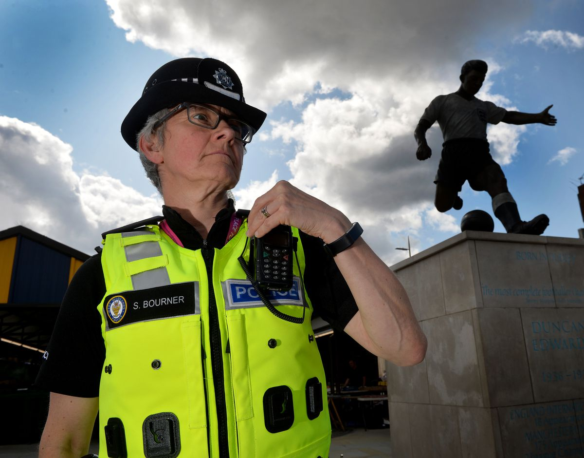 Chief Supt Sally Bourner pictured in Dudley town centre