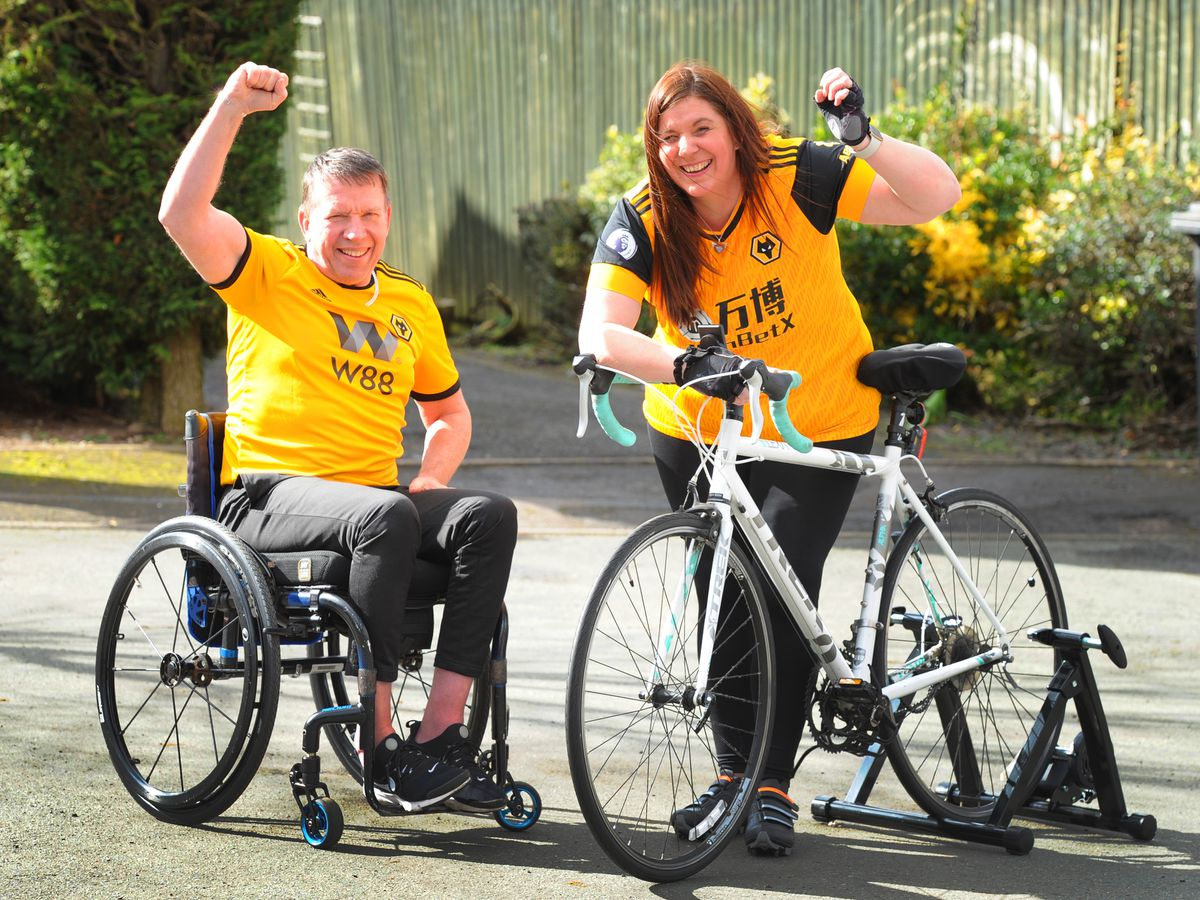 Mick and Tracey Green are embarking on a major fundraising challenge