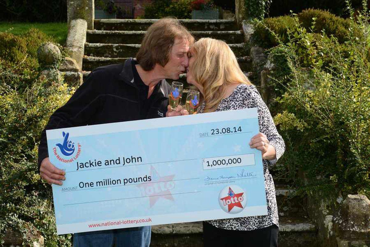 £1m scratchcard winner: 'We've been too excited to eat'