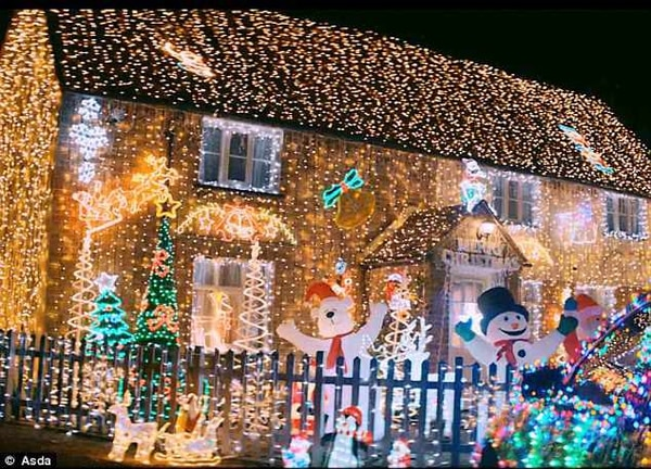 This Scene Greeted Viewers On November 1 As Asdas Latest Christmas Advert Was Screened