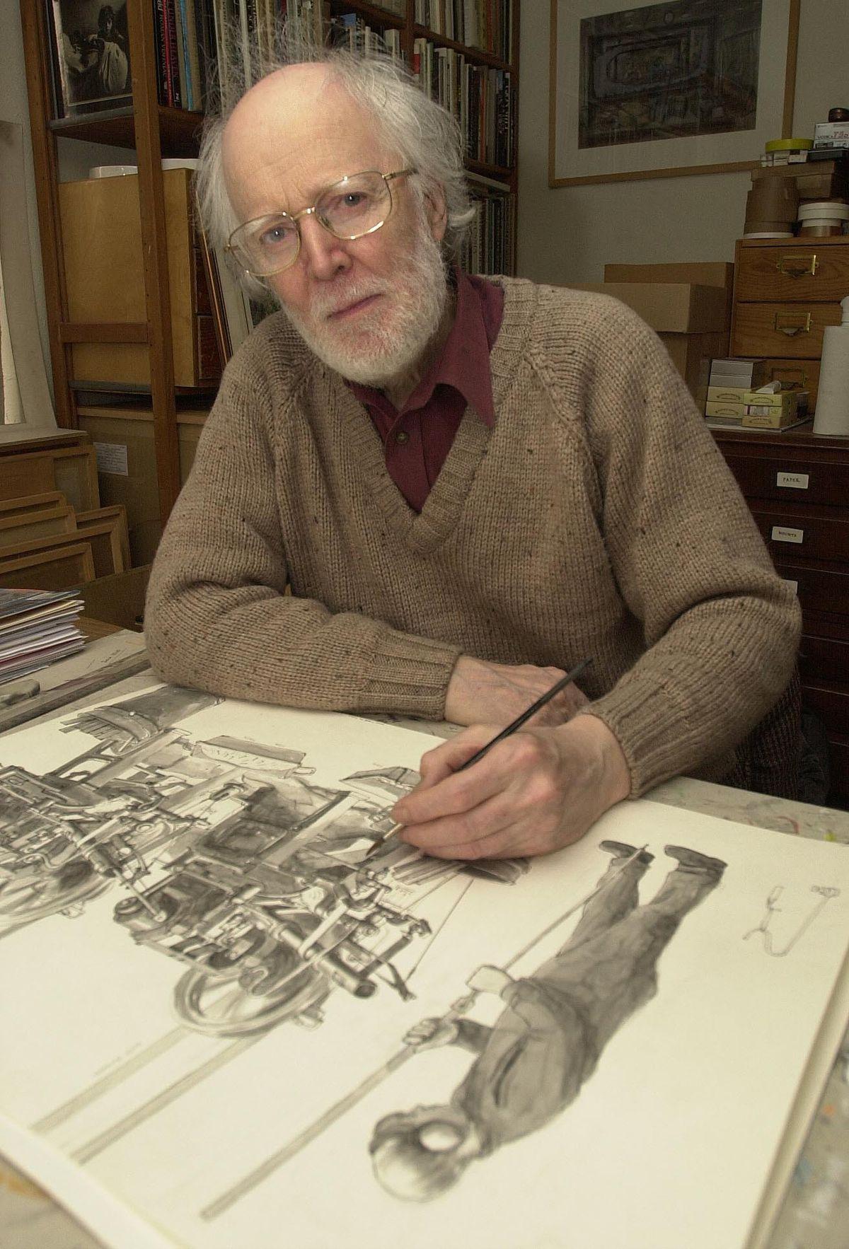 Artist Arthur Lockwood
