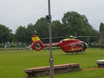 Man seriously injured after falling from height in Brierley Hill