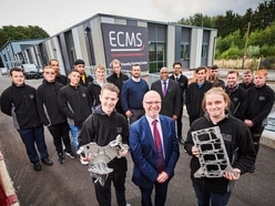 Apprentices get fired up about manufacturing at new foundry