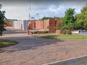 The entrance to Ibstock Atlas Factory in Stubbers Green Road, Aldridge. Photo: Google