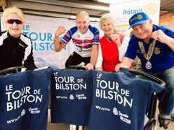 Tremendous turn-out for Le Tour de Bilston charity cycle