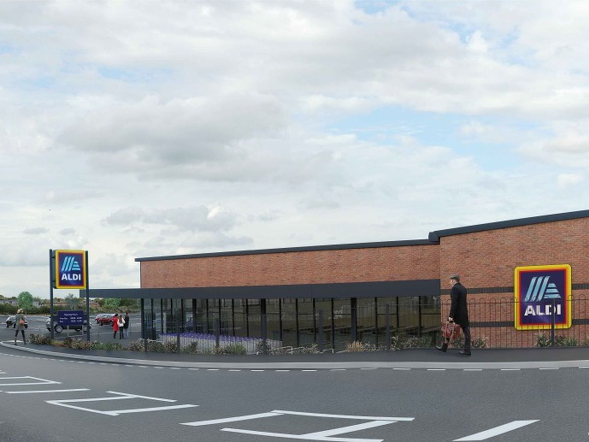 The proposed Aldi store in Dudley