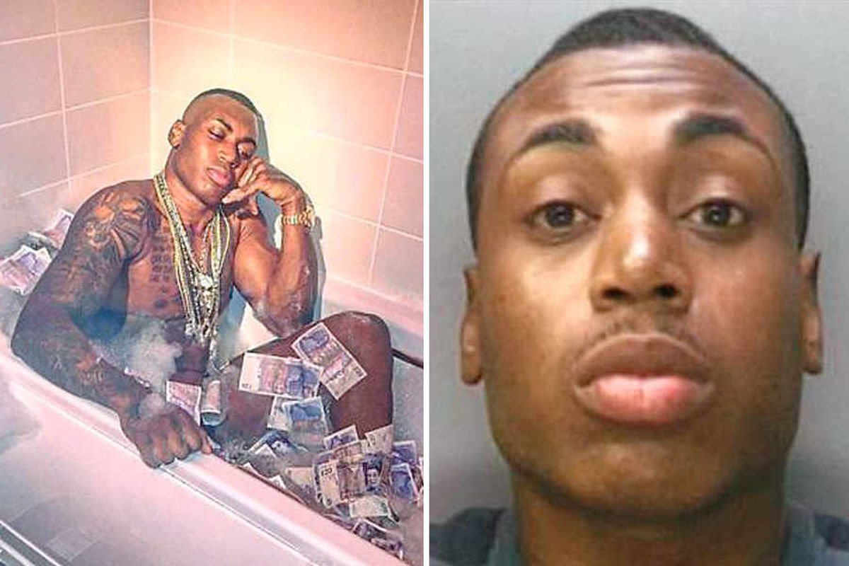 From blinged up to banged up: How Levi Watson's lavish lifestyle led to the drug dealer's downfall