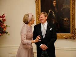 May highlights UK-Netherlands co-operation as she welcomes Dutch royals