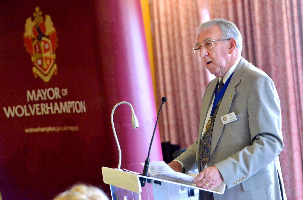 Wolverhampton Rotary Acting President: Paul Lockley.