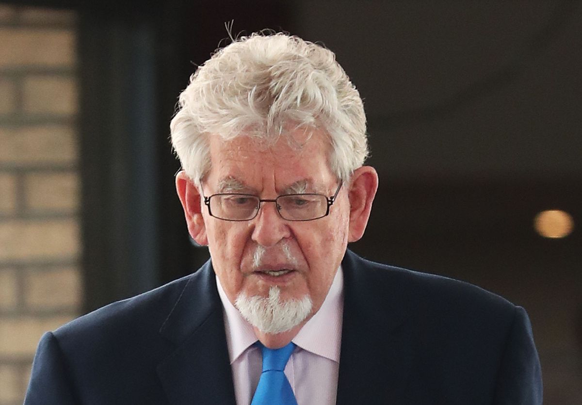 Rolf Harris served his sentence at HMP Stafford