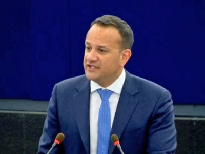 Irish Taoiseach tells MEPs to stand together over Brexit deal on the border