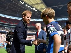 Duke of Sussex joins rugby league fans for Wembley cup final