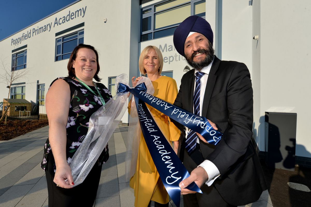 Poppyfield Primary Academy in Hednesford is officially open