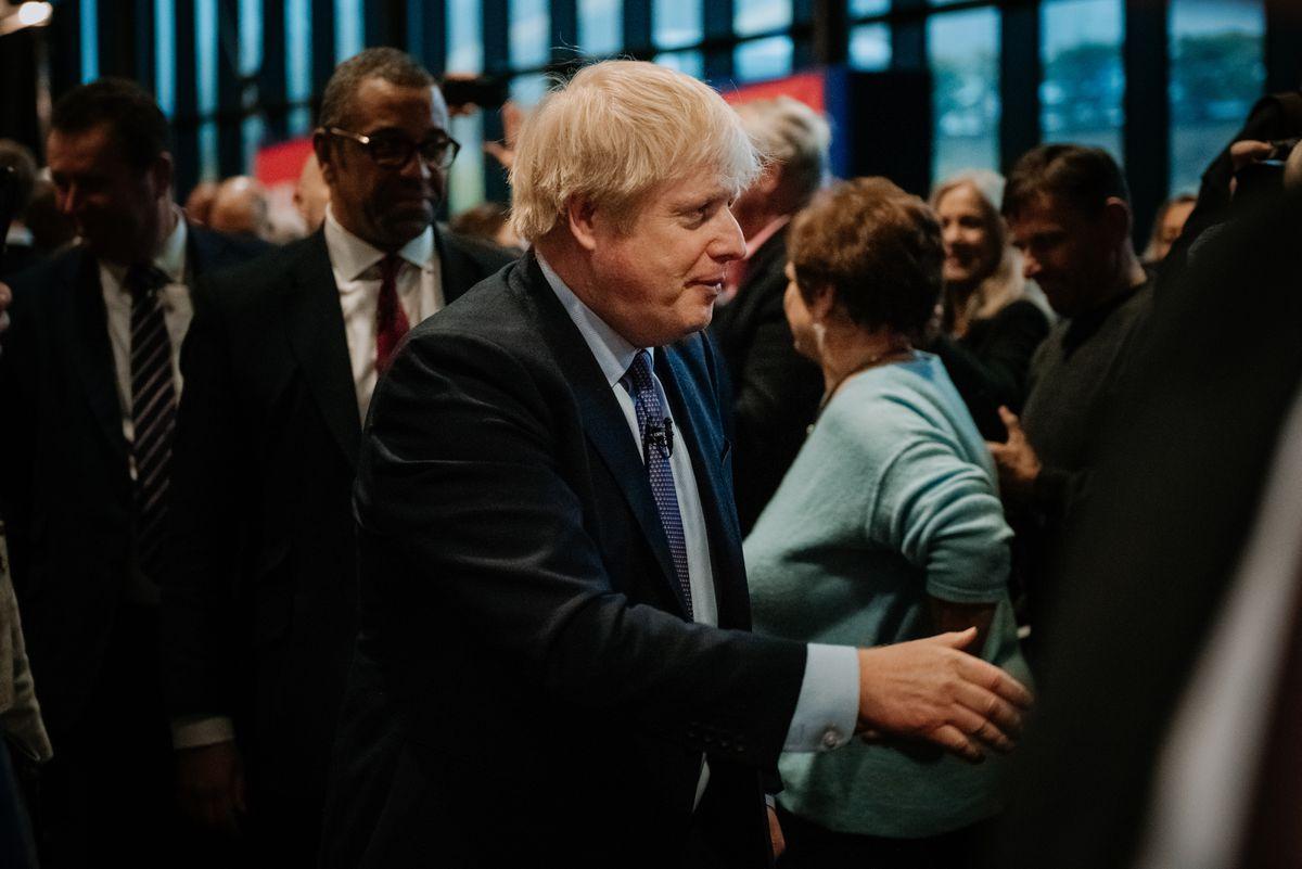 Boris Johnson launched his 2019 manifesto in Telford
