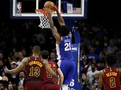 Embiid rescues Philadelphia with last-gasp dunk at home to Cleveland