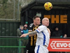 Lee Hughes will lead the line at Halesowen again