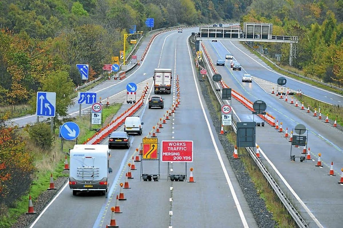 Could the new Western Orbital route link up with the M54 close to junction 2?