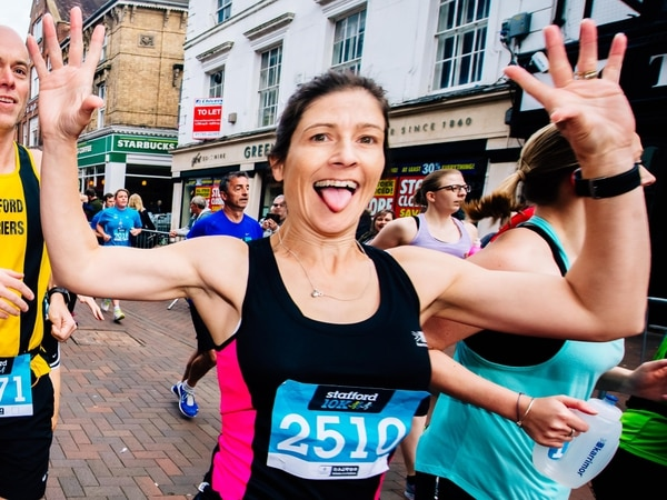 Fancy dress fills the streets for Stafford 10k - report and pictures
