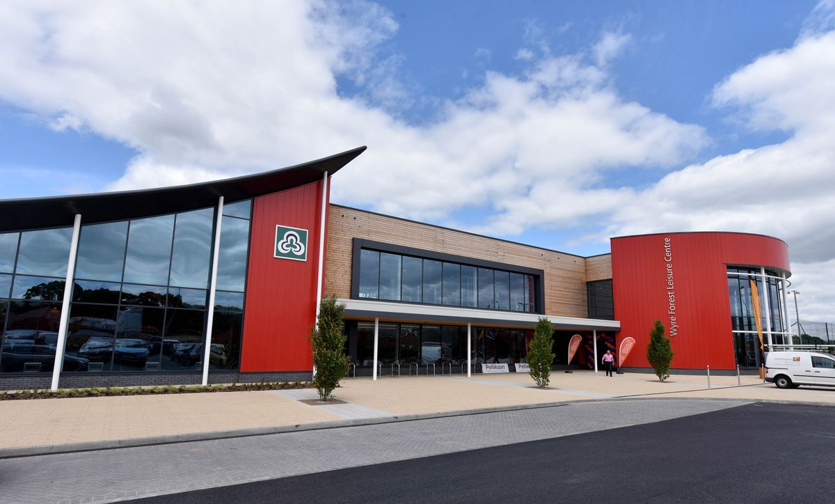 Wyre Forest Leisure Centre, in Kidderminster