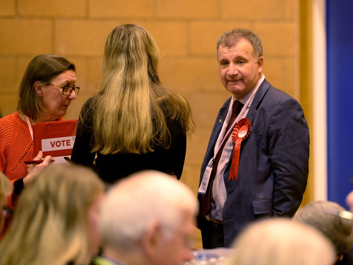 Pete Lowe, the Labour candidate for Stourbridge