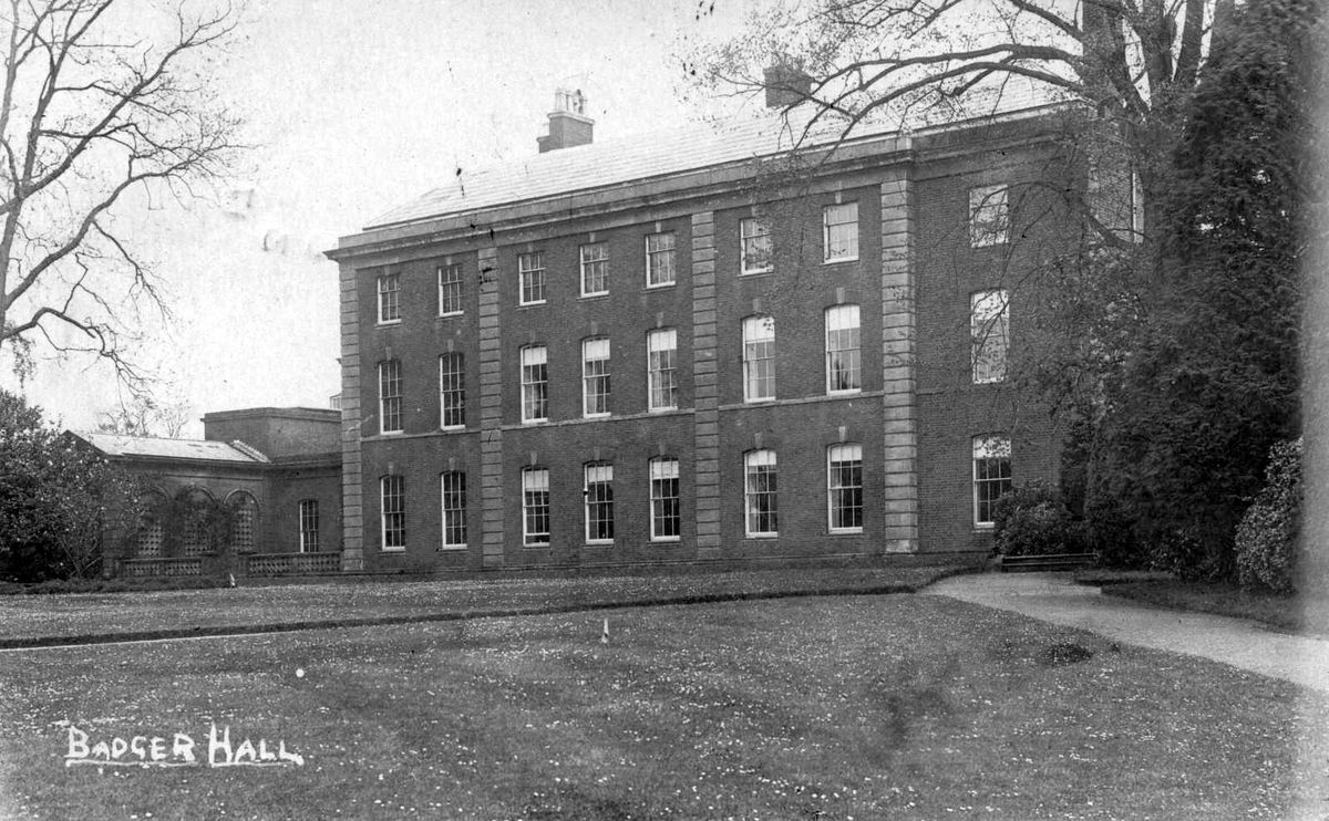 Lost - Badger Hall.