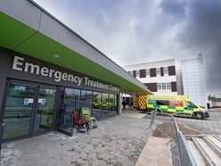 Patients faced long waits in ambulances outside Dudley's hospital