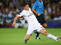 James Rodriguez sidelined for Colombia's friendly against Peru with knee injury