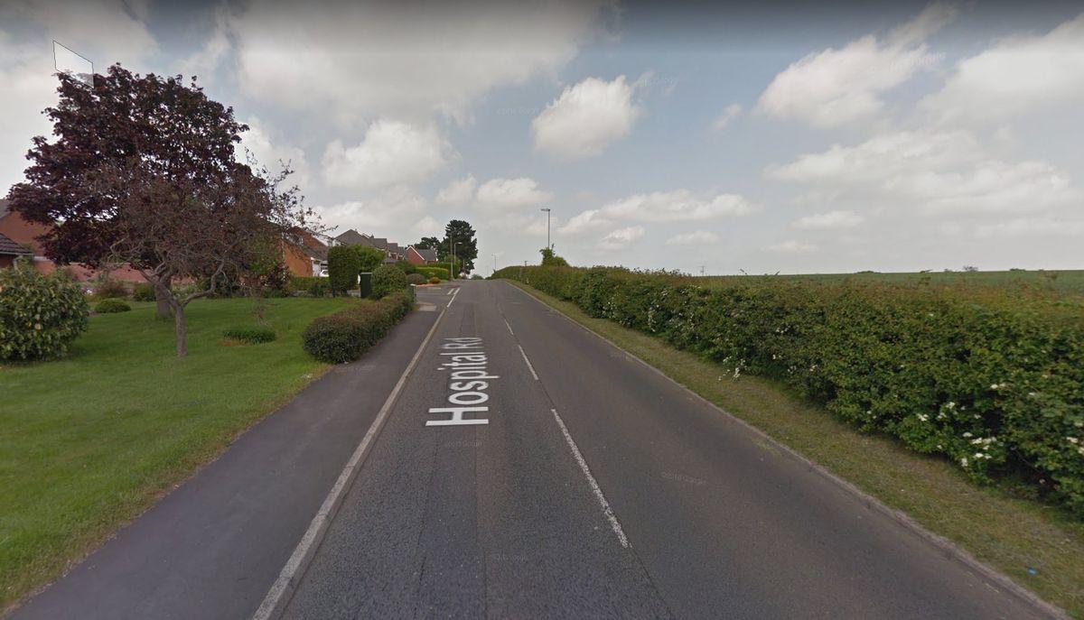 Hospital Road, Burntwood. Photo: Google Street View