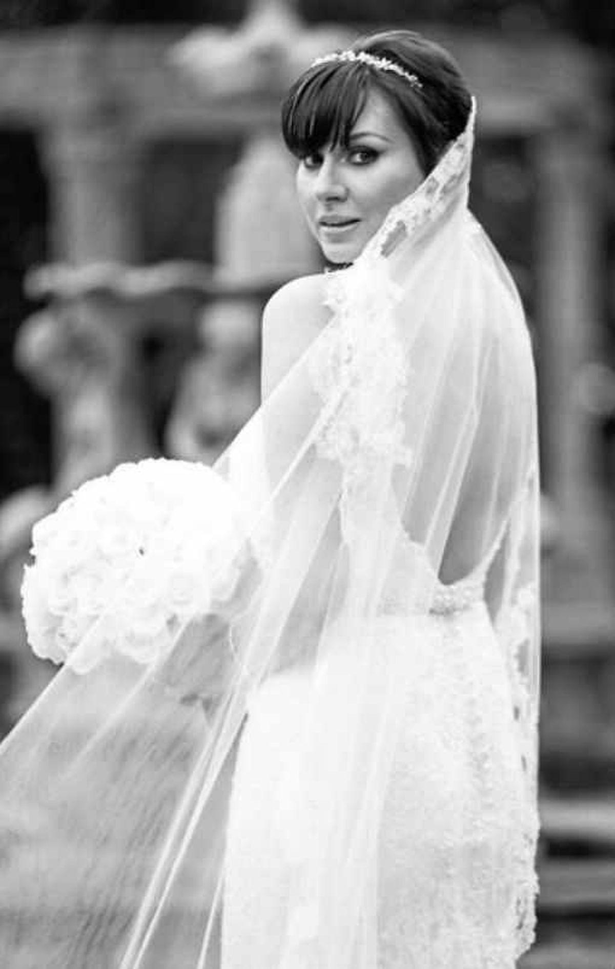 'Stunning' – tragic bride Lucy Guy on her wedding day