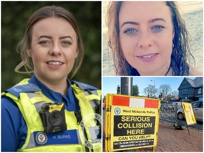 Woman killed after police chase crash named as PCSO Holly Burke