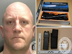 Jail for Neo-Nazi supporter caught with Taser, CS spray and sword at Black Country home