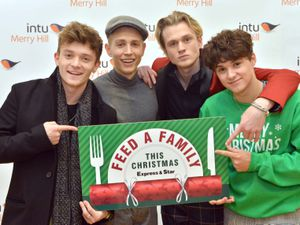 The Vamps support our Feed A Family This Christmas campaign