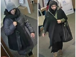 Can you help police find thieves who stole cash from woman's handbag?